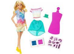 Mattel Barbie d.i.y. Crayola s módním potiskem běloška