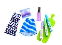 Mattel Barbie D.I.Y Crayola Batikování FPW14 fialový sprej