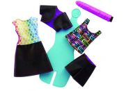 Mattel Barbie D.I.Y Crayola Magický vzor Fialová tužka