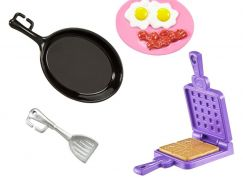 Mattel Barbie Doplňky FHP69 FHP70 Snídaně