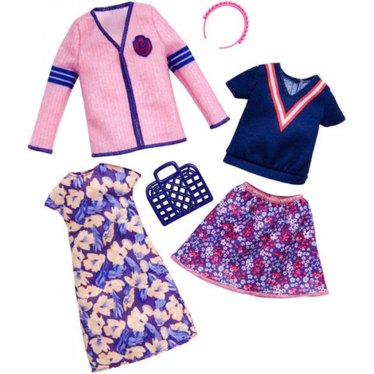 Mattel Barbie Dvoudílný set oblečení FKT29