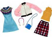 Mattel Barbie Dvoudílný set oblečení FKT39