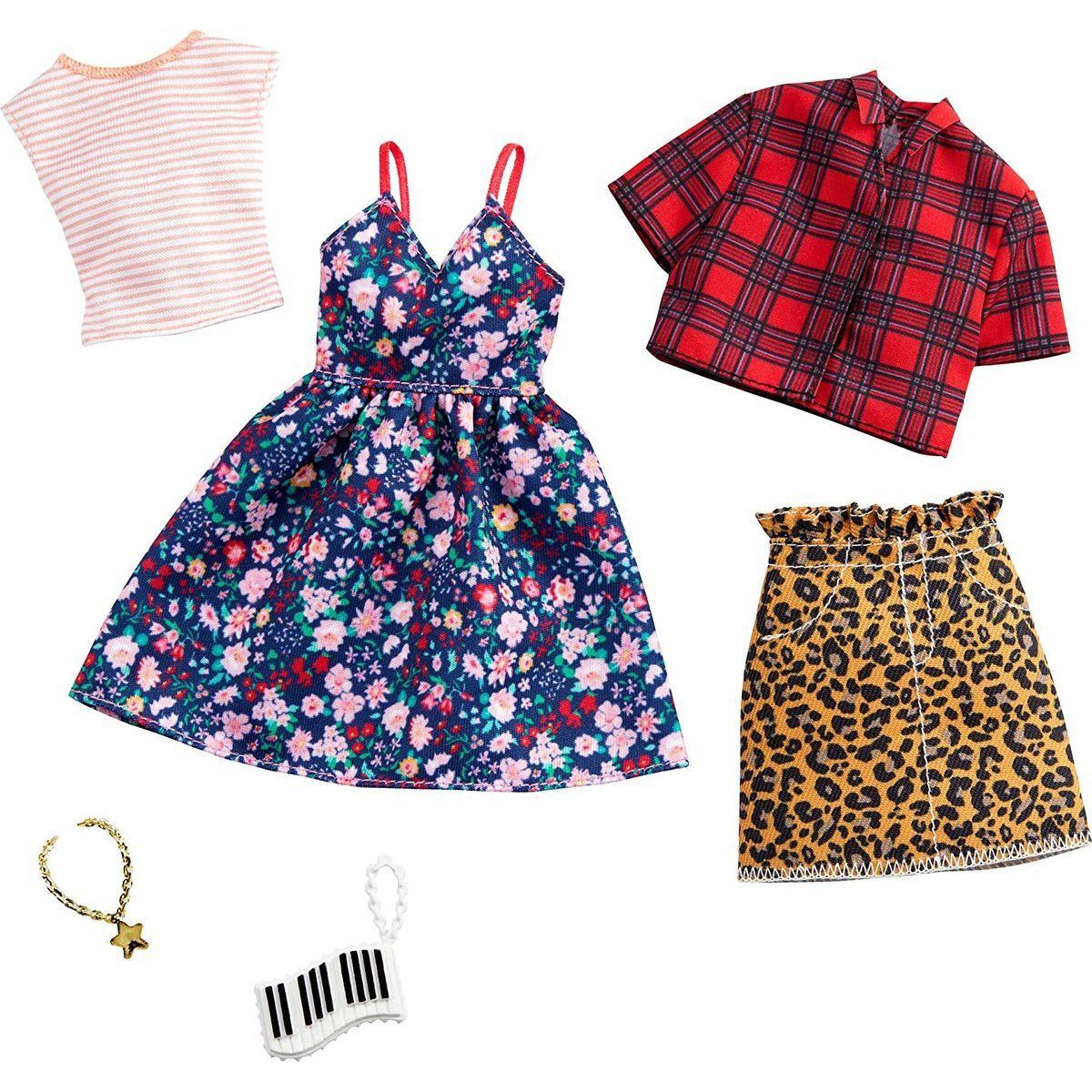 Mattel Barbie Dvoudílný set oblečení GHX57
