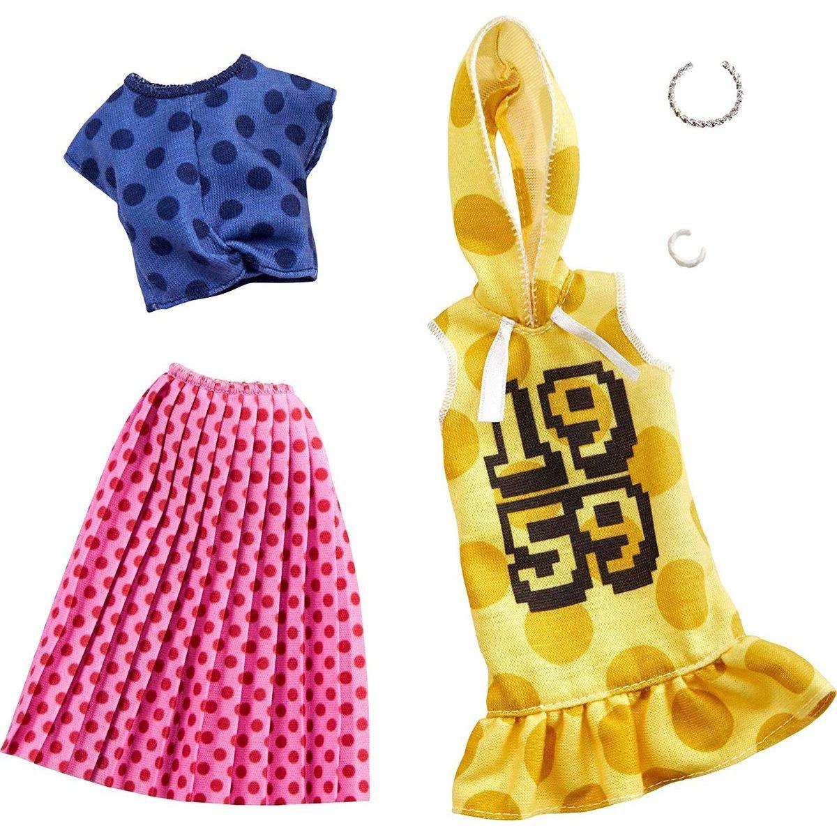 Mattel Barbie Dvoudílný set oblečení GHX60