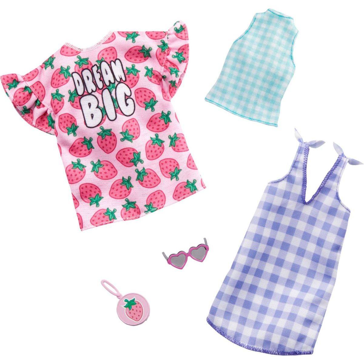 Mattel Barbie Dvoudílný set oblečení GHX61
