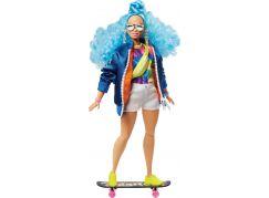 Mattel Barbie extra s modrým afro účesem