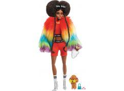 Mattel Barbie extra v pláštěnce