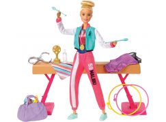 Mattel Barbie gymnastka herní set