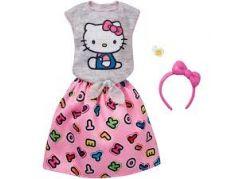 Mattel Barbie Hello Kitty Tématické oblečky a doplňky FKR68