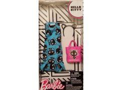 Mattel Barbie Hello Kitty Tématické oblečky a doplňky FKR71