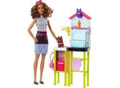 Mattel Barbie Herní set Povolání s panenkou Psí salón