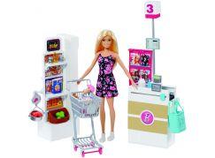 Mattel Barbie herní set supermarket