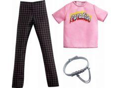 Mattel Barbie Ken oblečky Růžové tričko