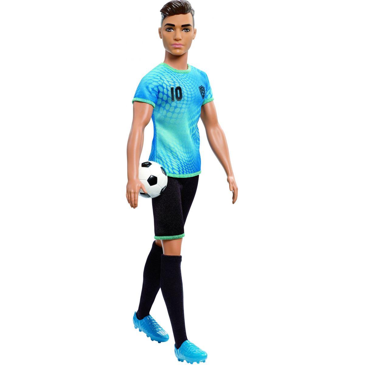 Mattel Barbie Ken povolání fotbalista