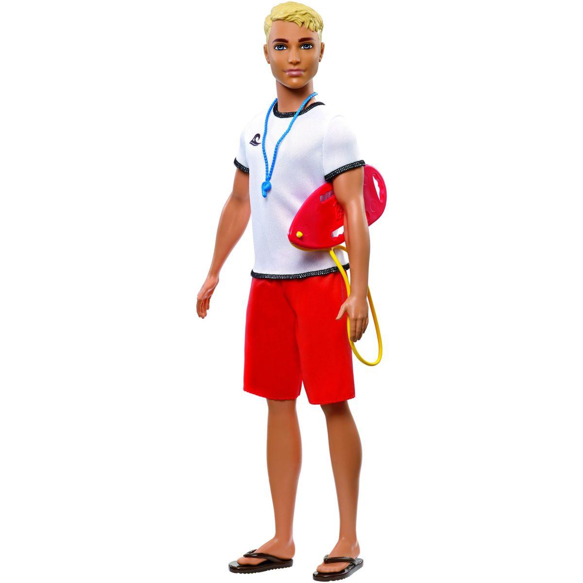 Mattel Barbie Ken povolání plavčík