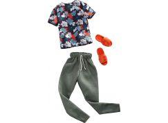 Mattel Barbie Kenovy oblečky oranžové pantofle 37