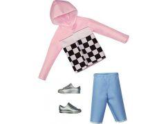 Mattel Barbie Kenovy oblečky růžová bunda
