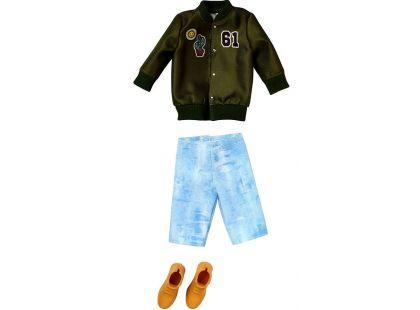 Mattel Barbie Kenovy oblečky zelená bunda 61