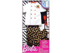 Mattel Barbie Kenovy profesní oblečky kuchař