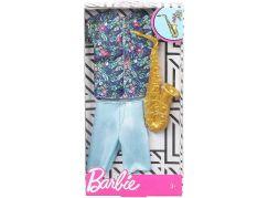 Mattel Barbie Kenovy profesní oblečky saxofonista