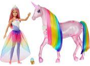 Mattel Barbie kouzelný jednorožec a panenka - Poškozený obal