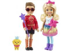Mattel Barbie kouzelný set Chelsea a Otto