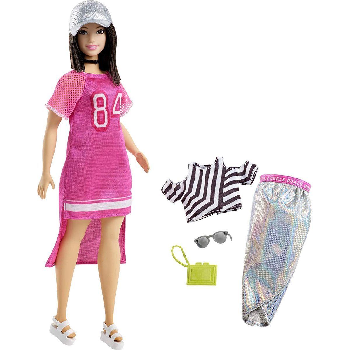 Mattel Barbie modelka s doplňky a oblečky 101