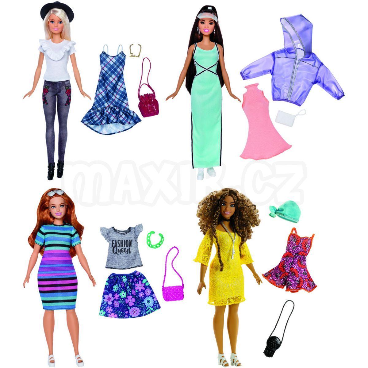 Mattel Barbie modelka s doplňky a oblečky 86  ffaff92f89
