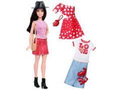 Mattel Barbie modelka s oblečky a doplňky 40