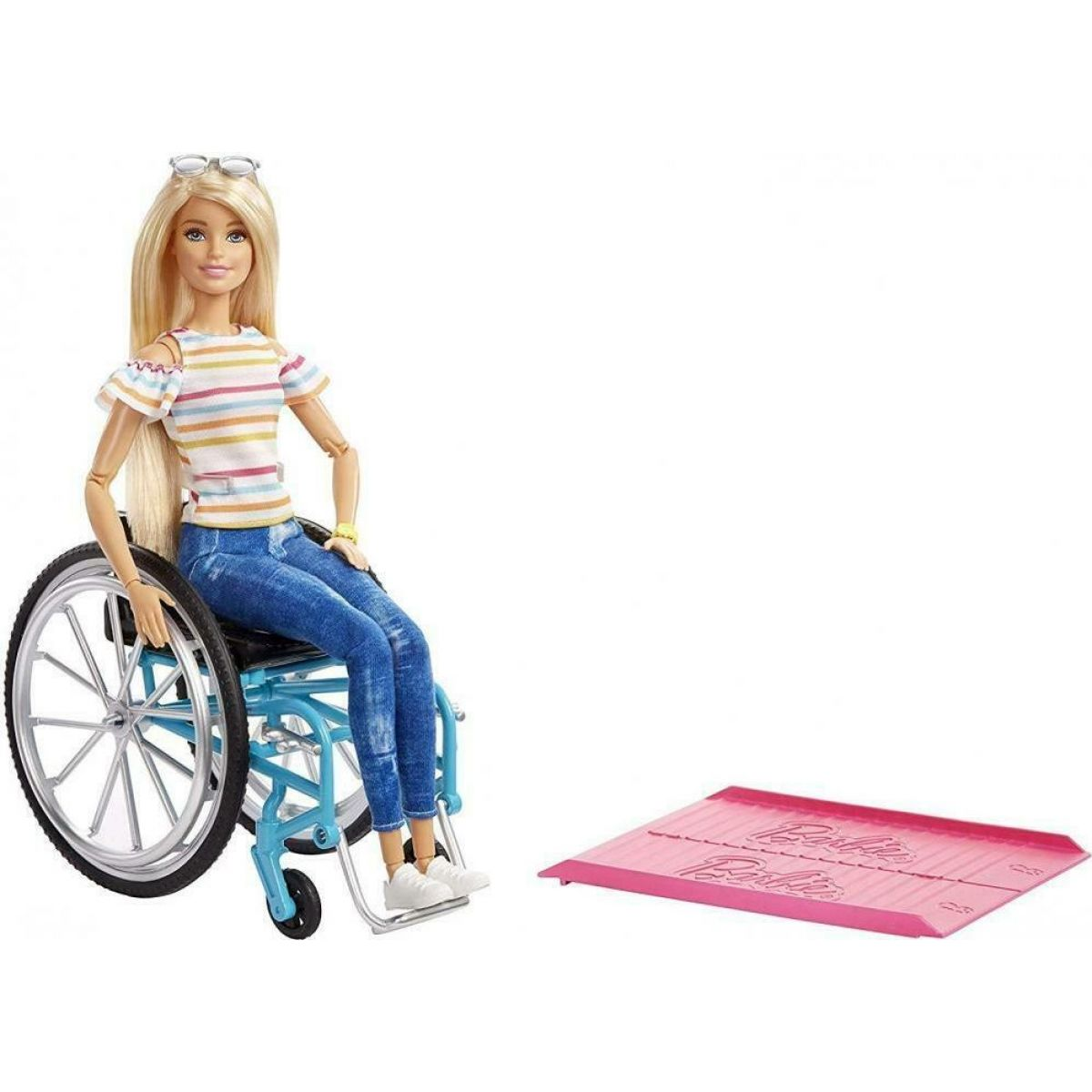 Mattel Barbie panenka na vozíčku