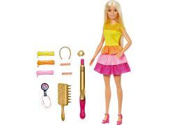 Mattel Barbie panenka s vlnitými vlasy