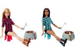 Mattel Barbie Panenka u táboráku