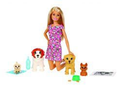 Mattel Barbie péče o štěňátka