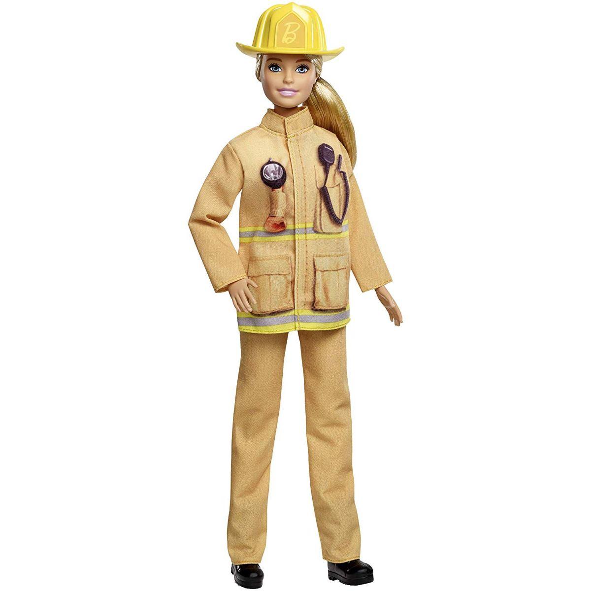 Mattel Barbie povolání 60. výročí hasička
