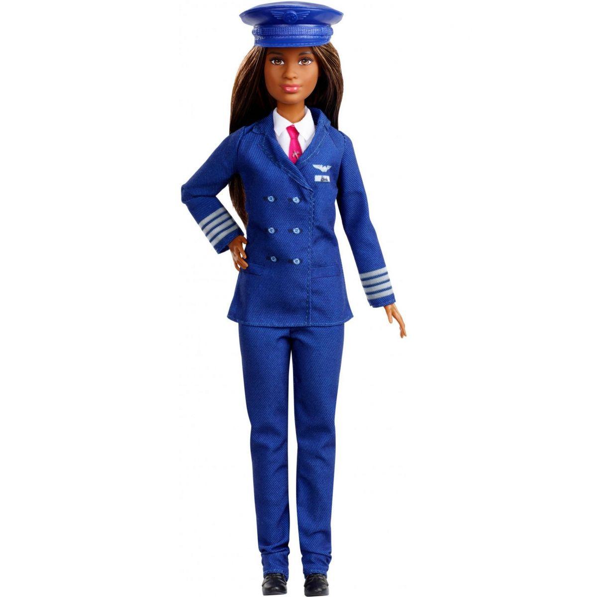 Mattel Barbie povolání 60. výročí Pilotka