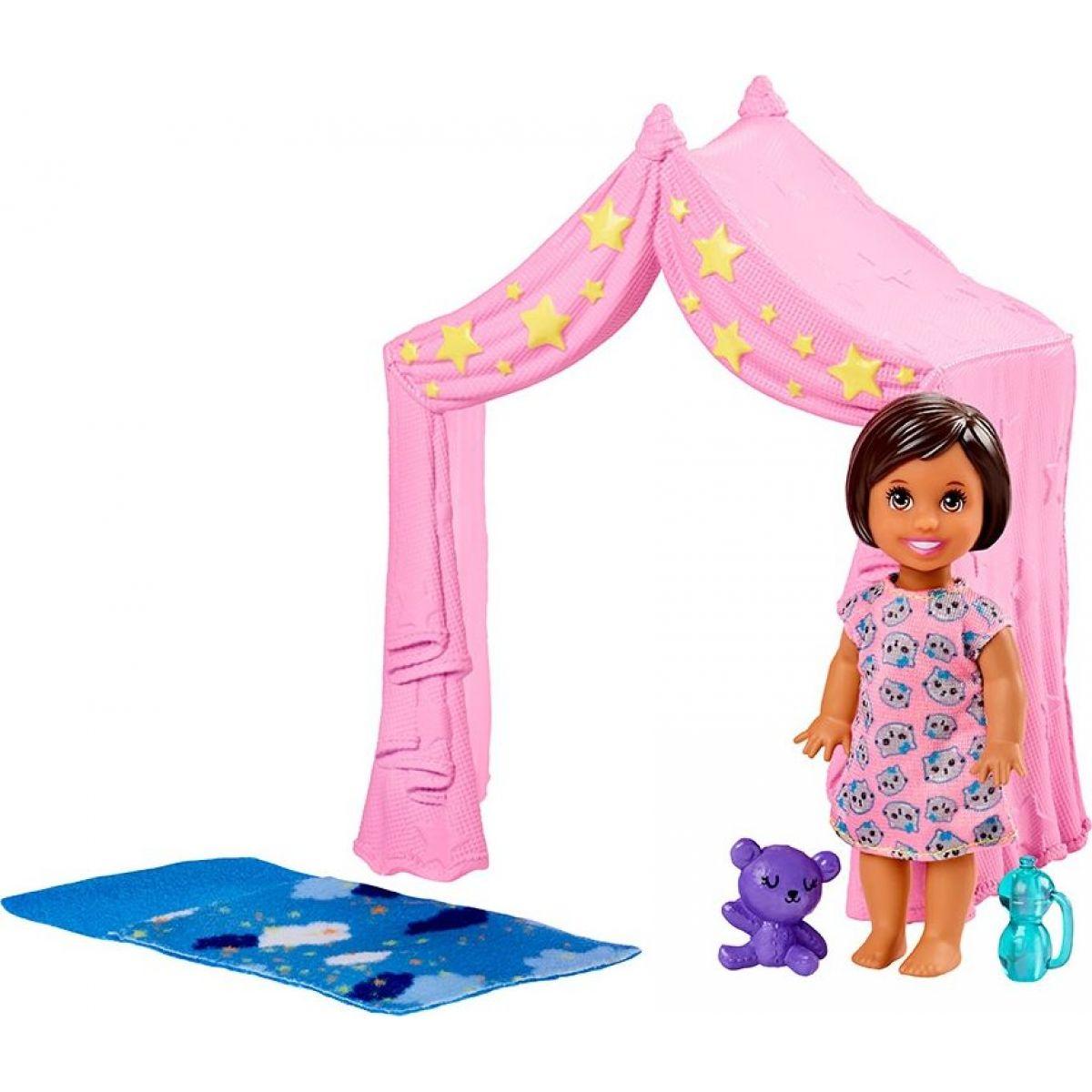 Mattel Barbie příběh z deníku chůvy altánek pro odpočinek