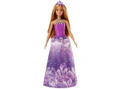 Mattel Barbie Princezna Hnědé vlasy fialová