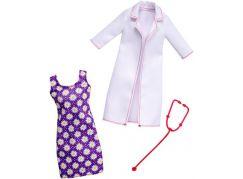 Mattel Barbie profesní oblečení s doplňky FKT12 Doktorka