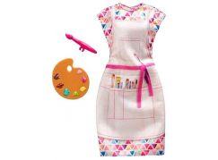 Mattel Barbie profesní oblečení s doplňky FXH98 Malířka