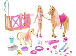 Mattel Barbie rozkošný koník s doplňky