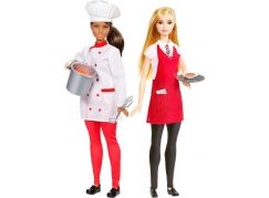 Mattel Barbie s kamarádkou Kuchařka a číšnice