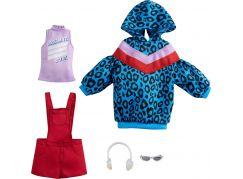 Mattel Barbie Sada oblečení - šaty s hvězdným potiskem GRC86