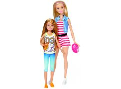 Mattel Barbie sestřičky Dvojitý set Sportovní