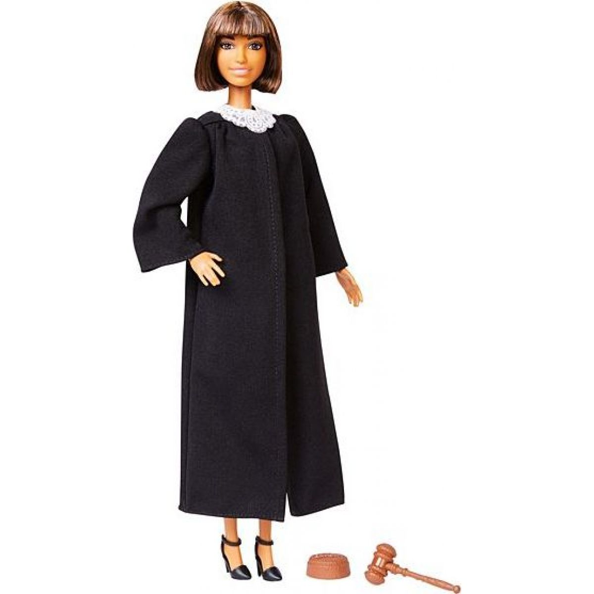 Mattel Barbie soudkyně míšenka