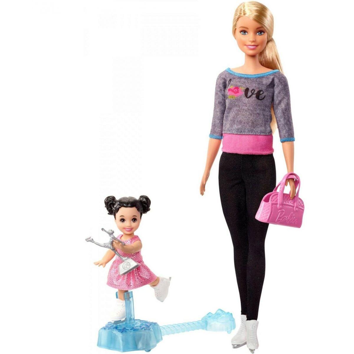 Mattel Barbie Sportovní sada krasobruslařka
