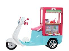 Mattel Barbie Vaření a pečení Bistro skútr