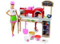Mattel Barbie Vaření a pečení Pizza s panenkou - Poškozený obal
