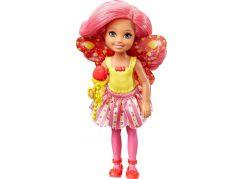 Mattel Barbie víla Chelsea bonbonová víla