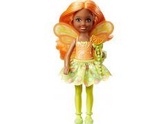 Mattel Barbie víla Chelsea citrusová víla