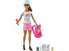 Mattel Barbie wellness panenka turistka
